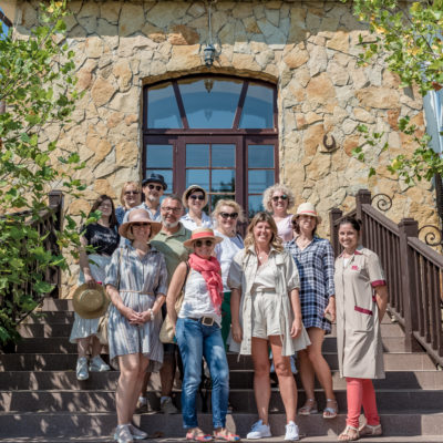 Tour to Bessarabia, Ukraine. Group photo. August 2019.
