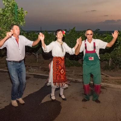Tour to Bessarabia, Ukraine. Evening joy. August 2019.