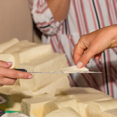 Tour to Bessarabia, Ukraine. Cheese tasting. August 2019.