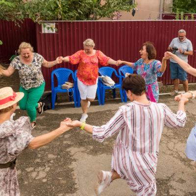 Tour to Bessarabia, Ukraine. Local dance. August 2019.